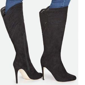 Just Fab Berllina Black Tall Boots 9